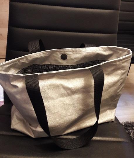 réalisation d'un sac shopping