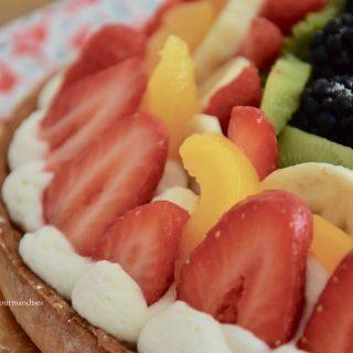 Tarte aux fruits frais et mascarpone...miam