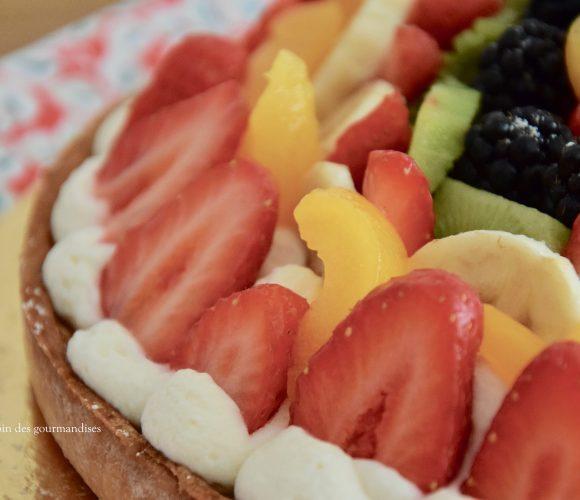 Tarte aux fruits frais et mascarpone…miam
