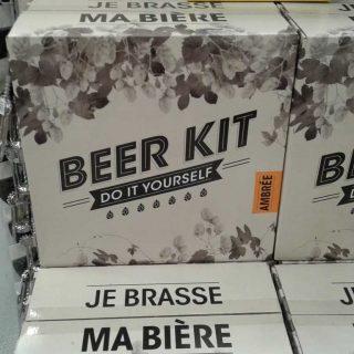 """Le kit """"je fabrique ma bière blonde"""""""