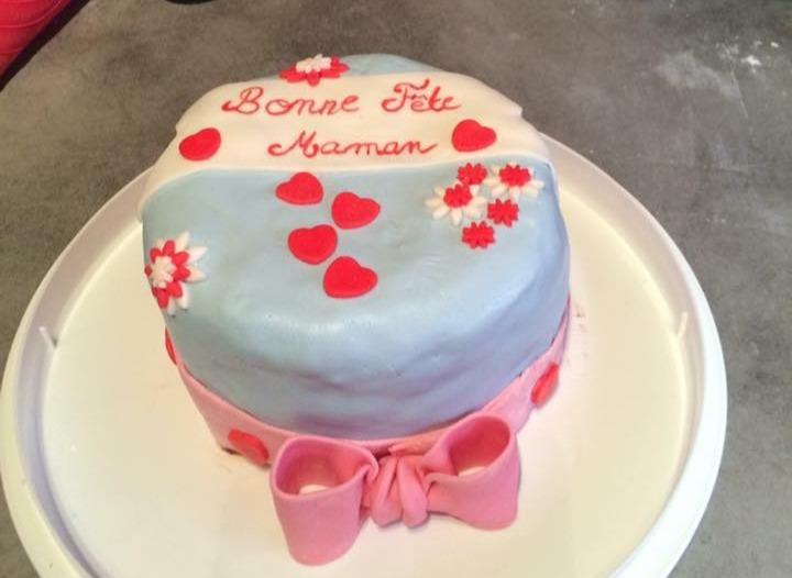 Gâteau de fête des mères