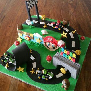 Cake design Mario kart