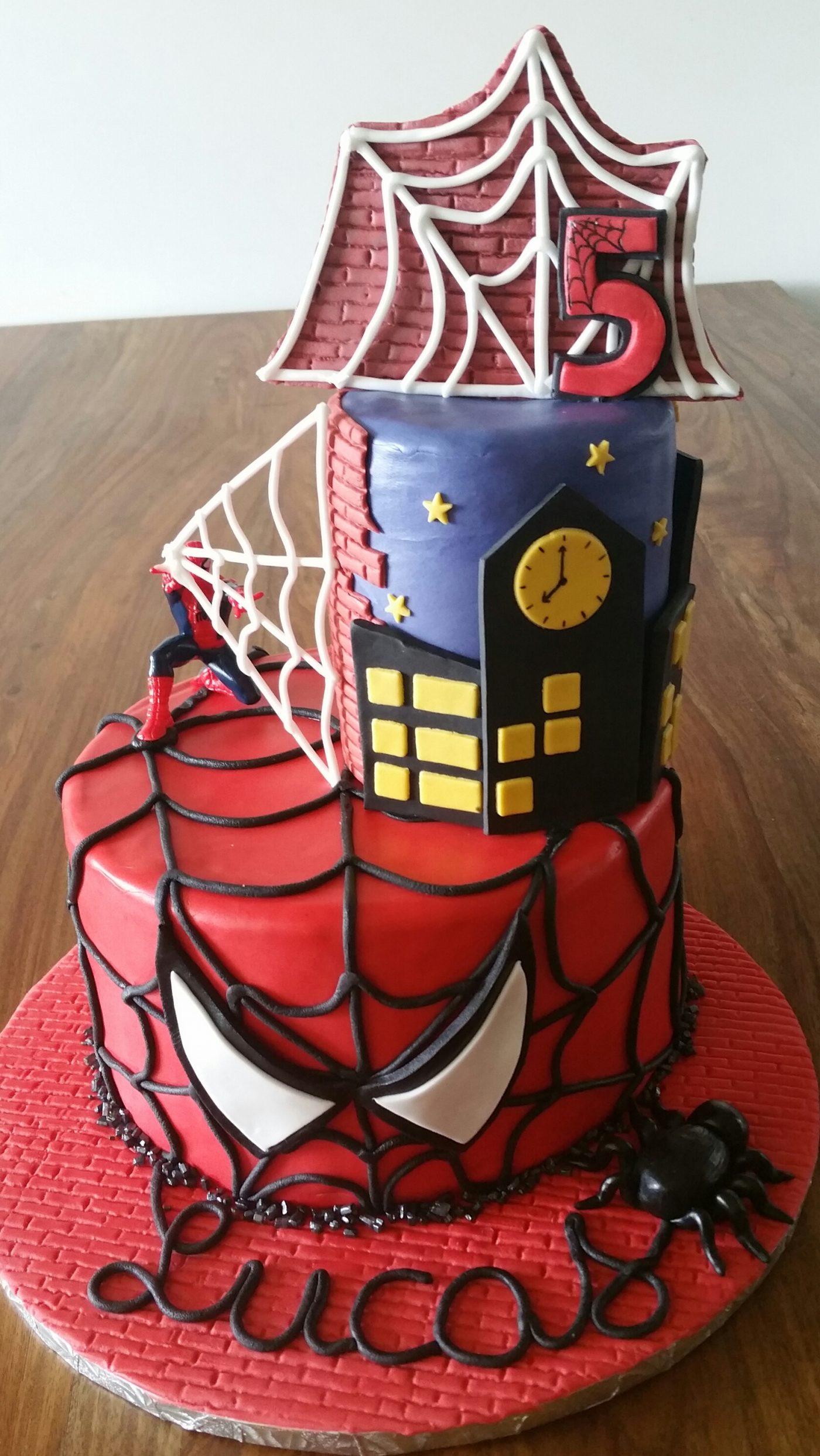 Spiderman Cake Design Blog Zodio