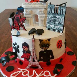 Cake design Miraculous
