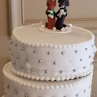 Gâteau de mariage à étages