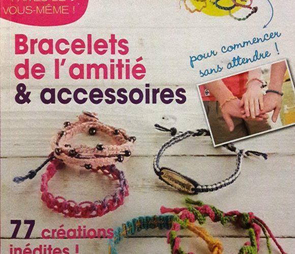 J'ai testé pour vous le livre «bracelets de l'amitié et accessoires»