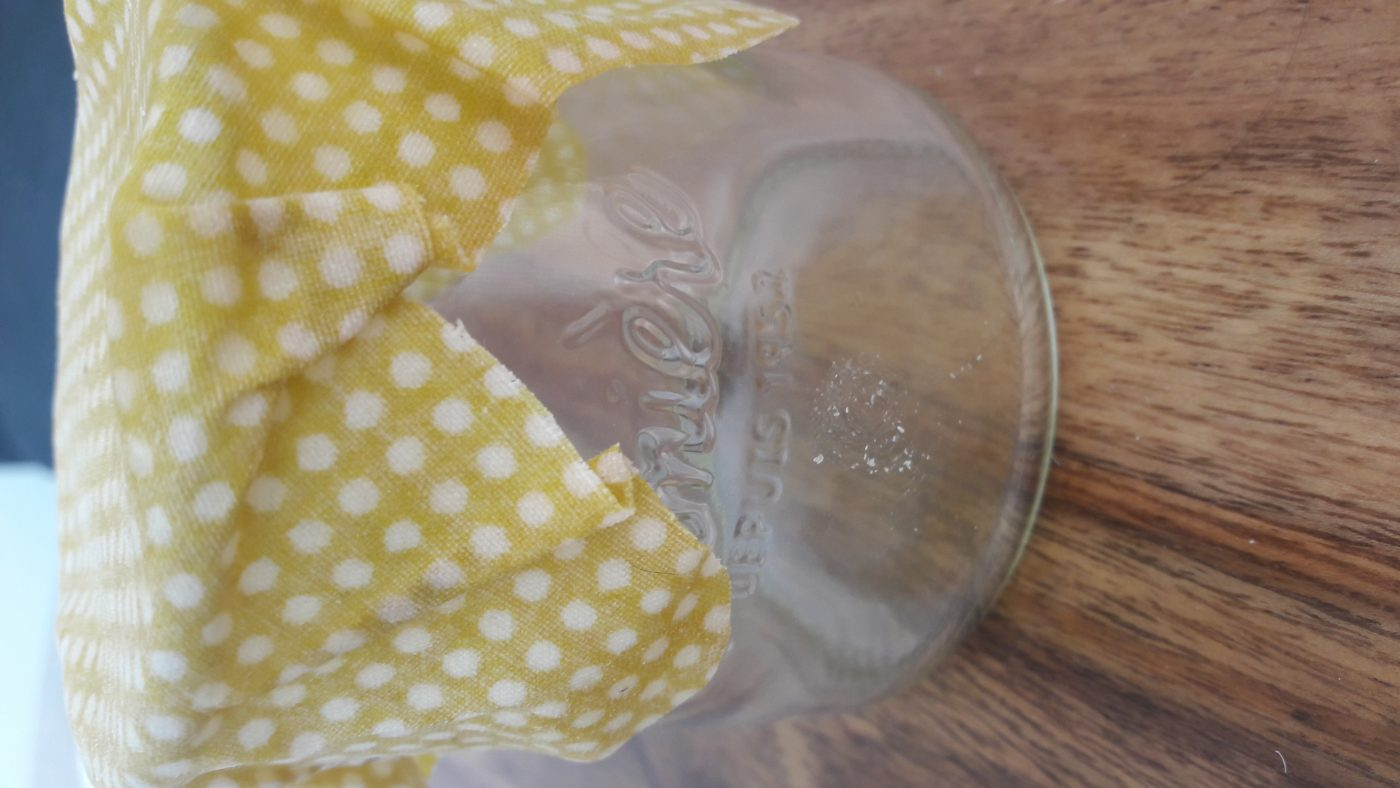 Bee's wrap l'emballage réutilisable à la cire d'abeille
