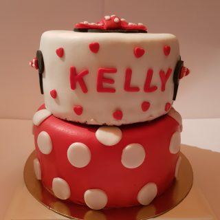 Gâteau Minnie pour la pte Kelly