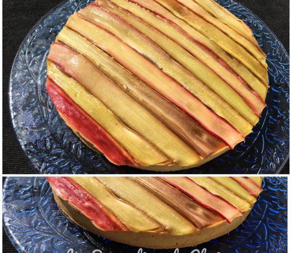 Tarte rhubarbe de Philippe Conticini