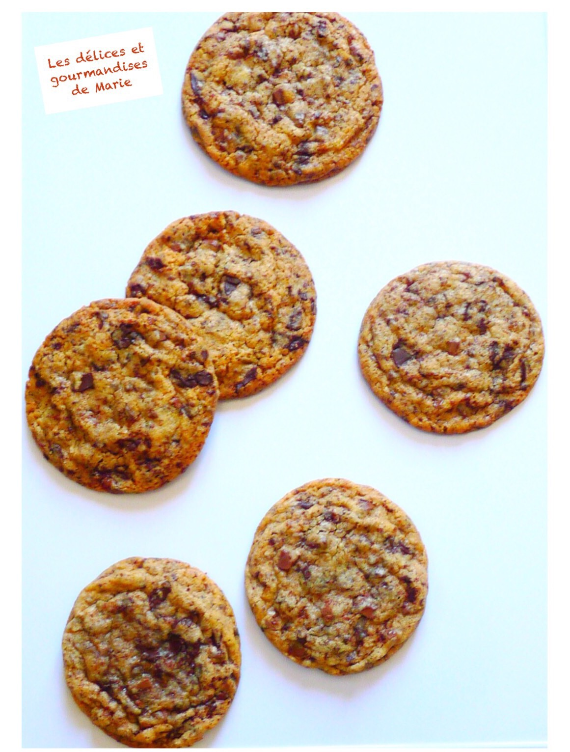 Cookies ultra gourmands aux 2 chocolats
