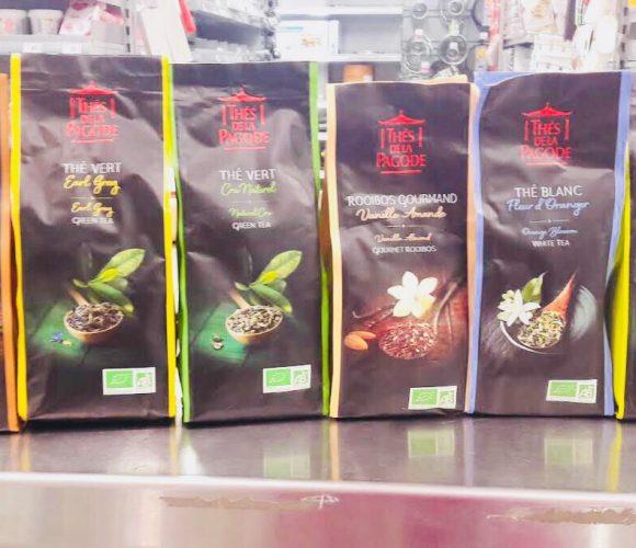 Les thés certifiés Bio!!!