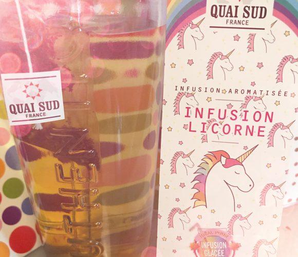 J'ai testé pour vous infusion Glacée Licorne (Quai Sud)