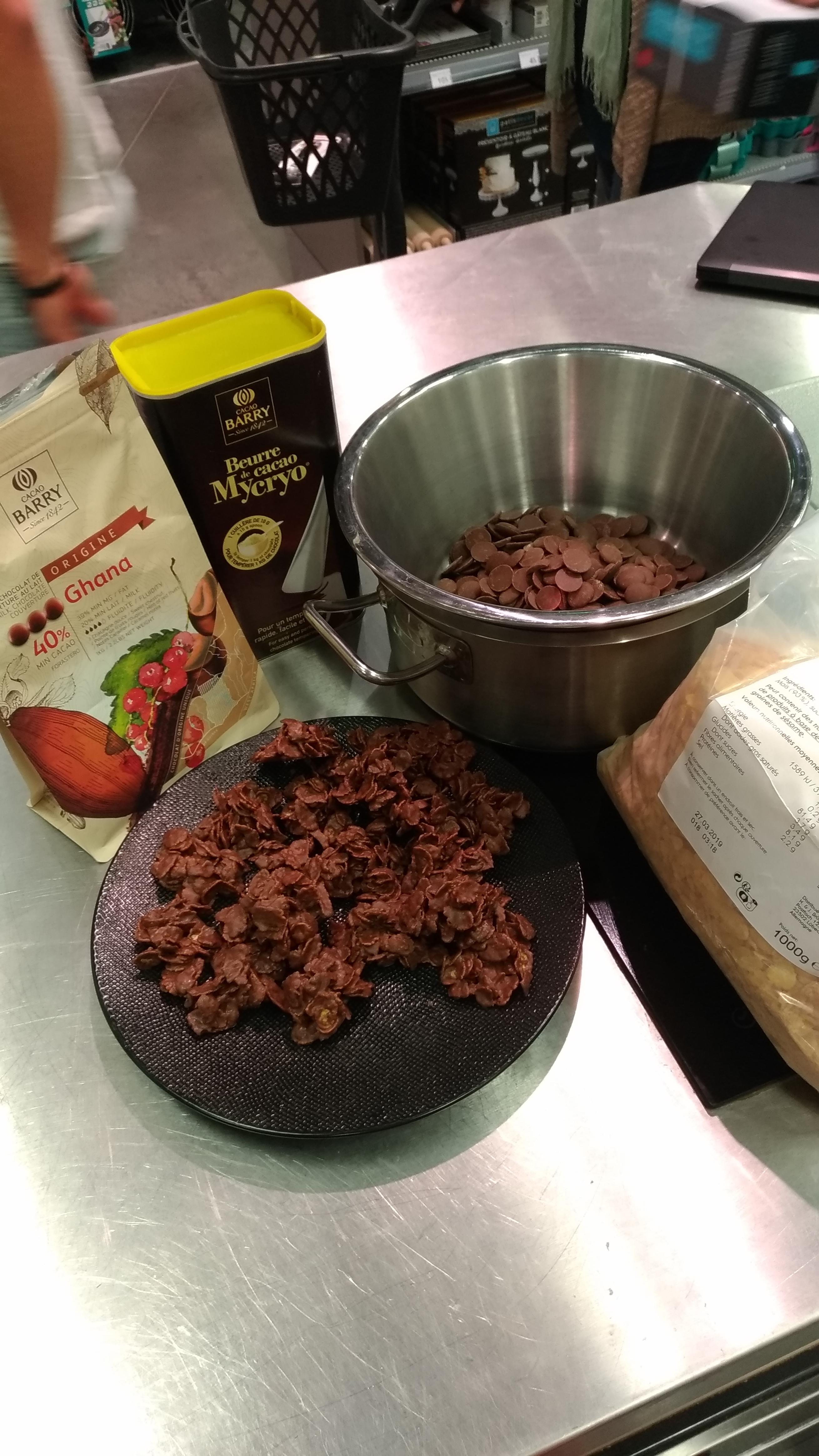 J'ai testé pour vous le chocolat de couverture au lait Ghana de chez Barry