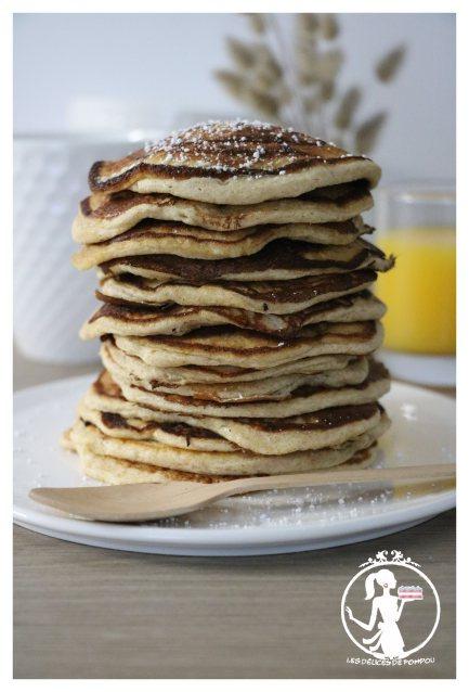 Pancake léger pour l'été