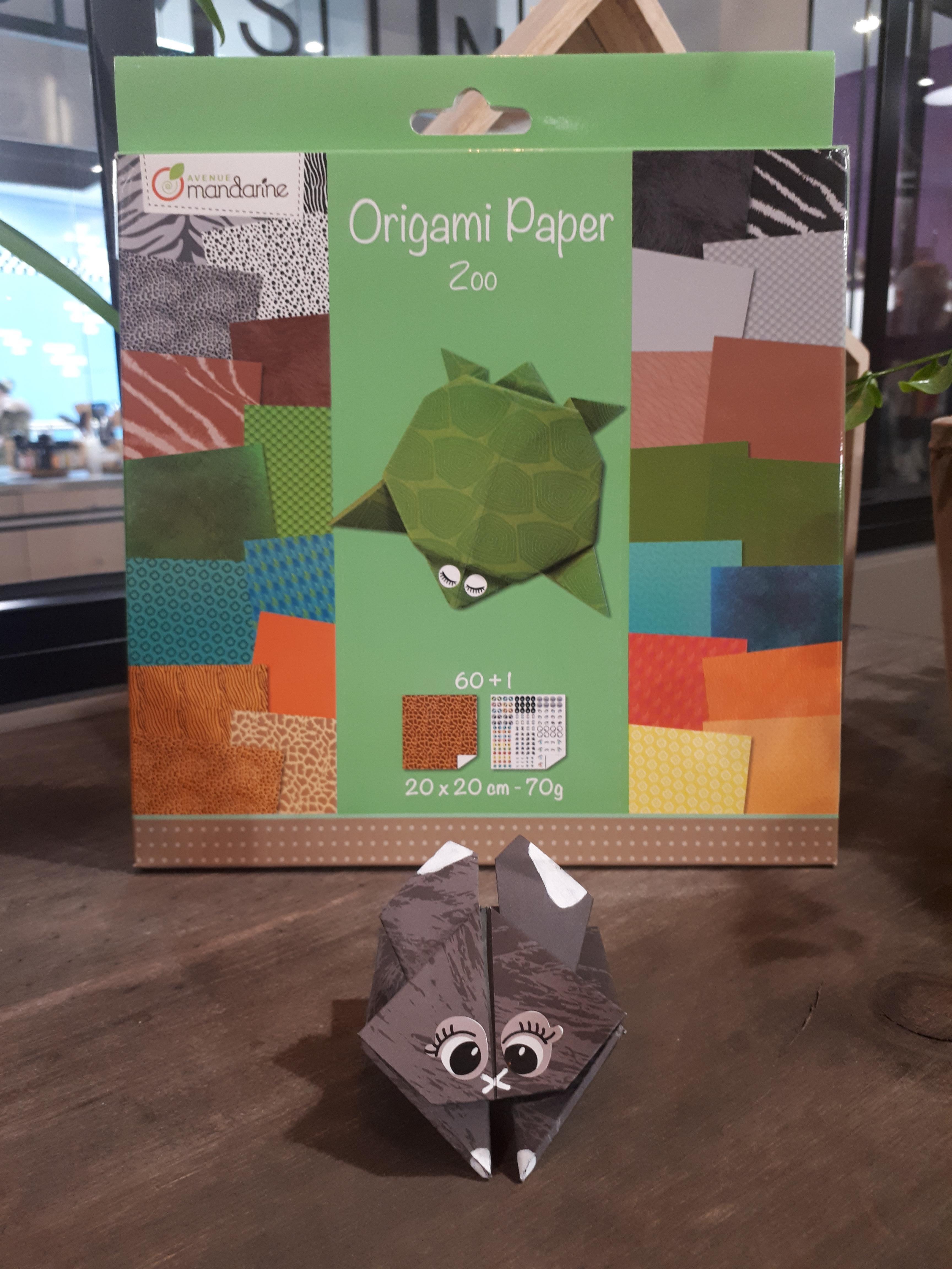 J'ai testé pour vous le Origami Paper Zoo