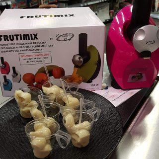 J'ai testé pour vous la sorbetière Frutimix