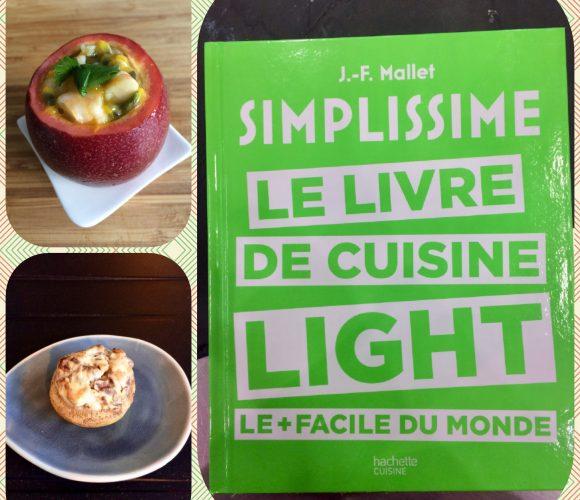 2 exemples de recettes du Simplissime «Light» pour un apéritif dînatoire  entre amis !
