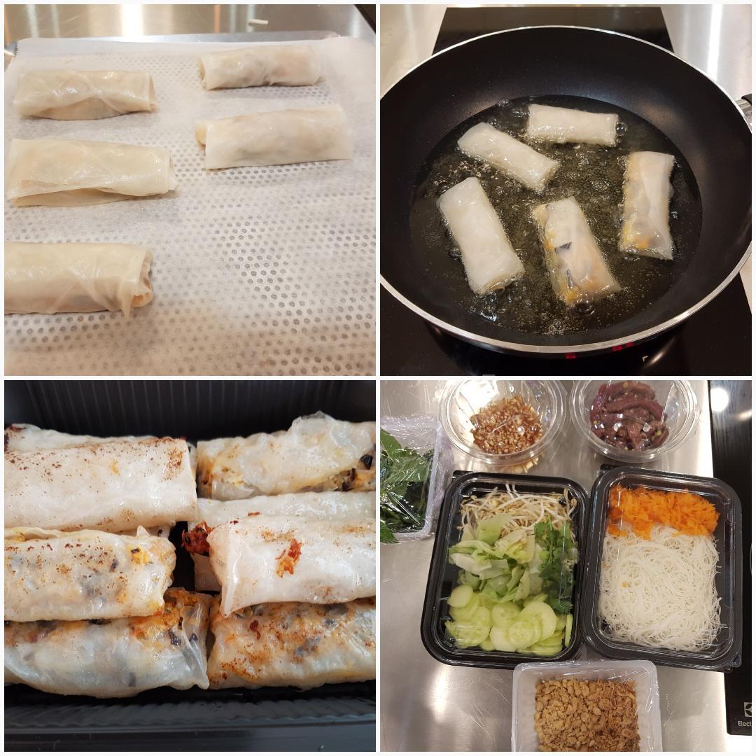 J'ai testé pour vous l'atelier culinaire Bo-bun nems