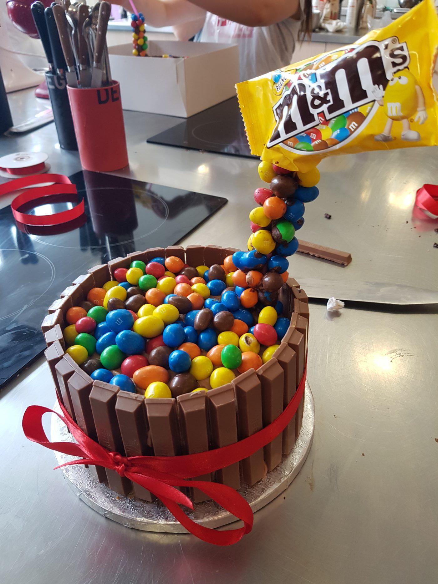 Atelier Gravity Cake avec le chef Pierre