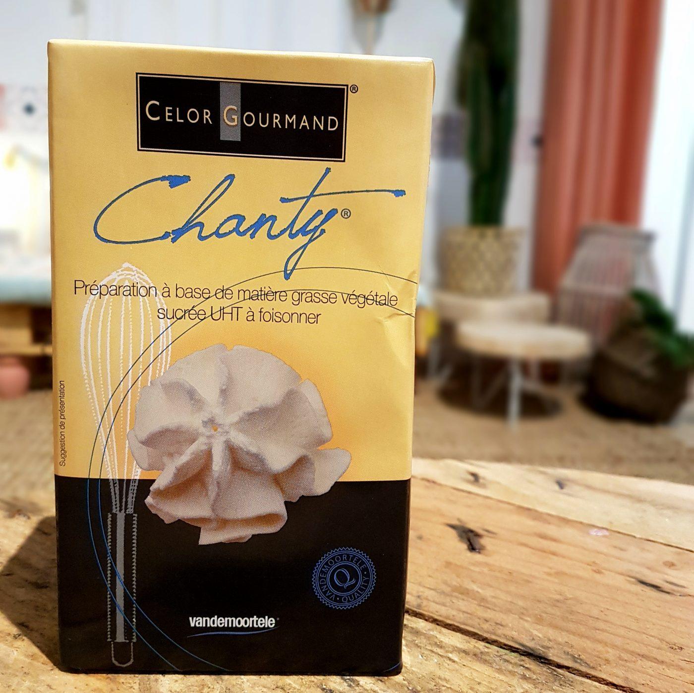 J'ai testé pour vous la crème Chanty (pour la préparation de chantilly)