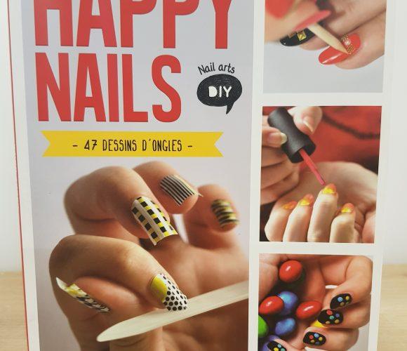 J'ai testé pour vous le livre Happy Nails