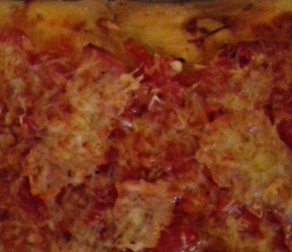 Pizza avec i bambini Gaïa 8 ans et Alessio 6 ans
