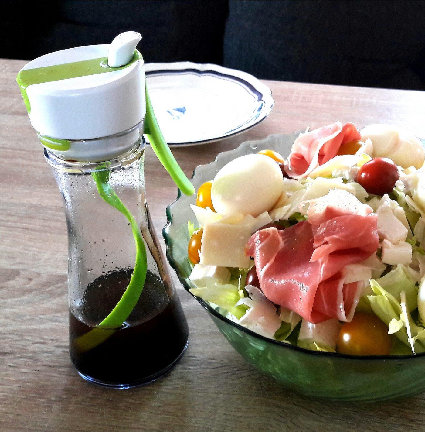 J'ai testé pour vous le salad dressing mixer : mon coeur de coeur de l'été