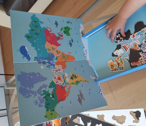 J'ai testé pour vous la carte du monde magnétique