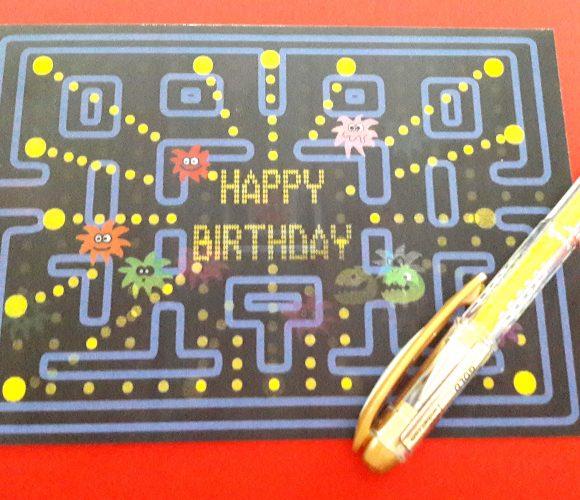 J'ai testé pour vous la carte animée «happy birthday»