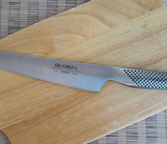 J'ai testé pour vous le couteau chef global