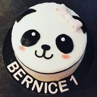 Gâteau Panda fille