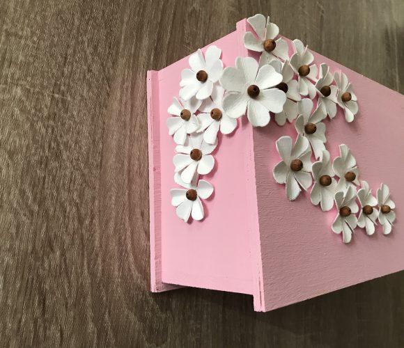 Set de 18 fleurs blanches artemio