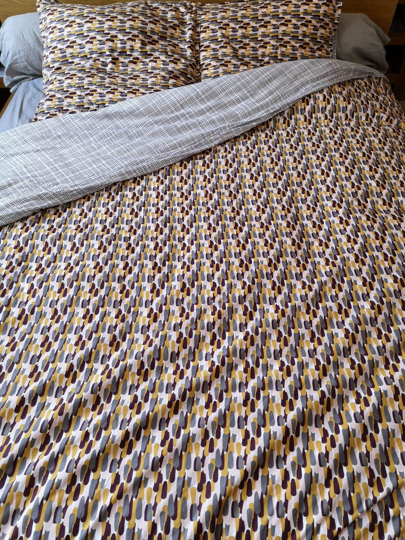 J'ai testé pour vous la parure de lit Carillon terre percale