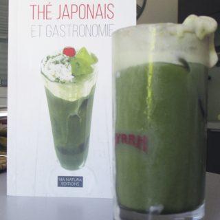 Matcha Float selon la recette de Thé Japonais et Gastronomie.