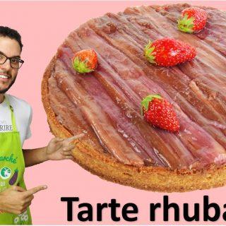 LA TARTE RHUBARBE HIBISCUS