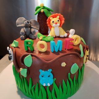 Gâteau d'anniversaire de Roméo