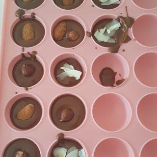 """Des chocolapins """"Maison"""" avec les enfants"""
