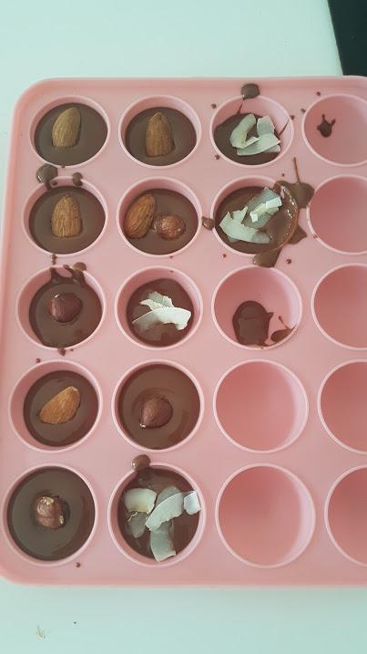 Des chocolapins «Maison» avec les enfants