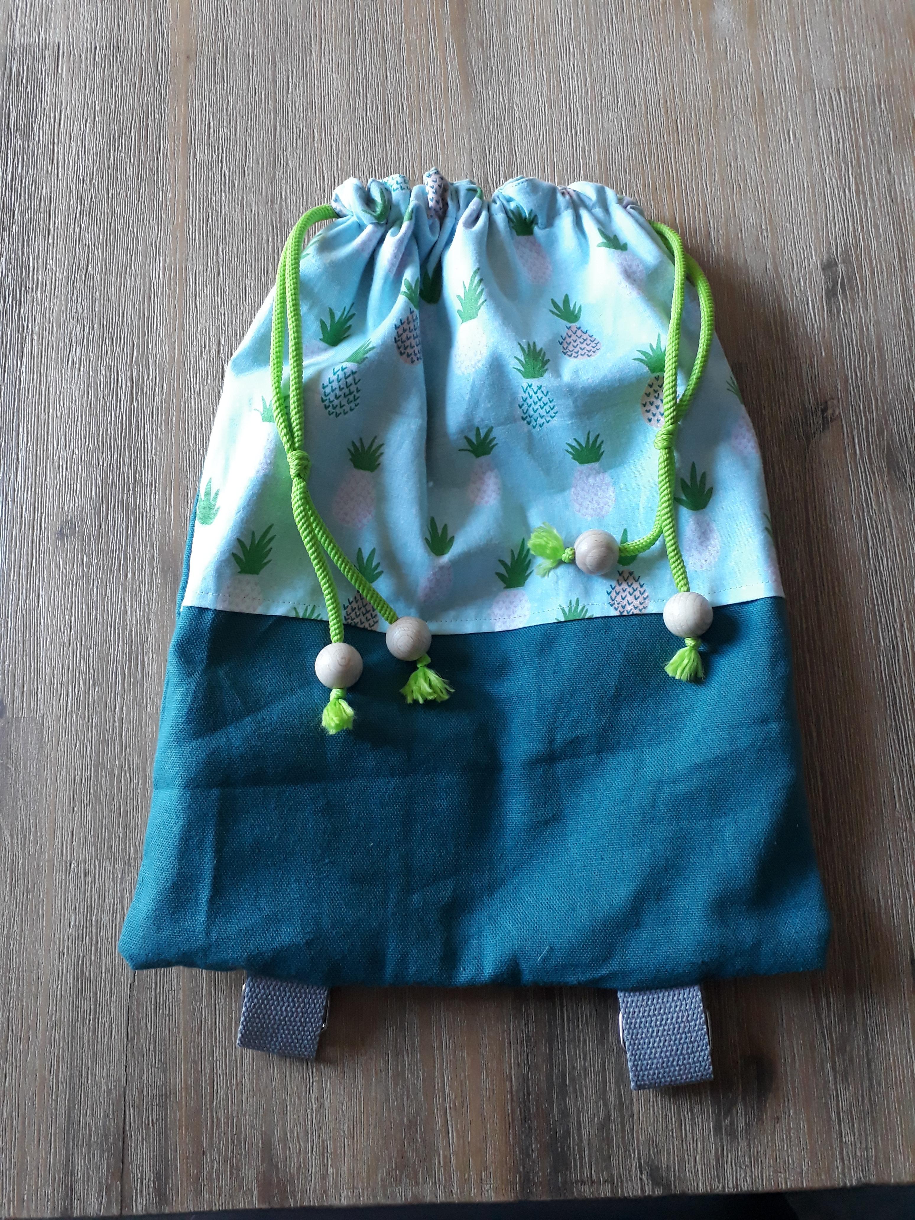 J'ai testé pour vous l'atelier couture Sac à dos enfant