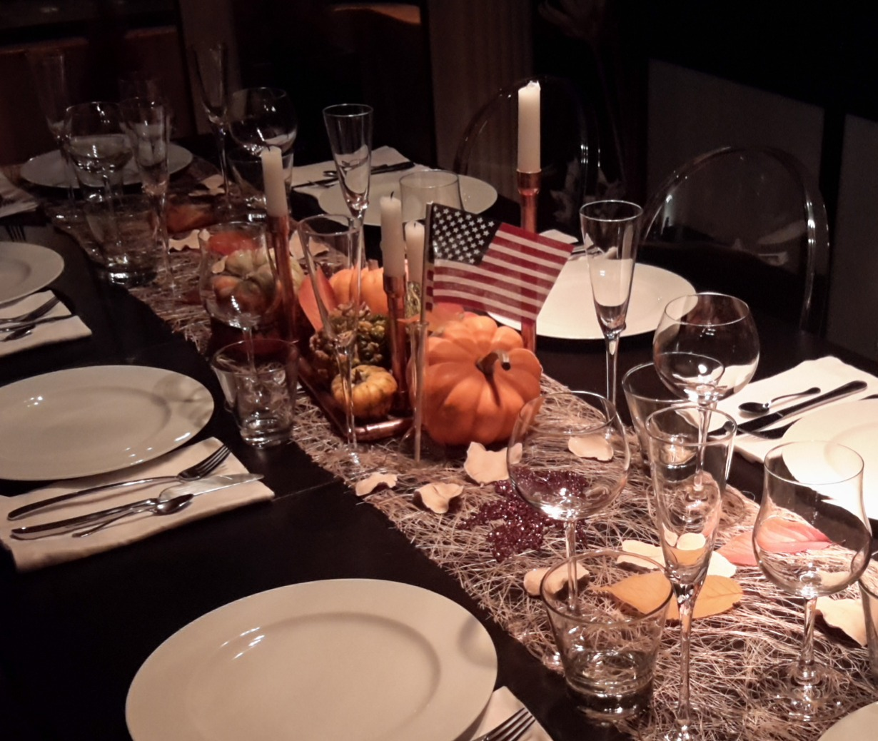 Ma table de Thanksgiving