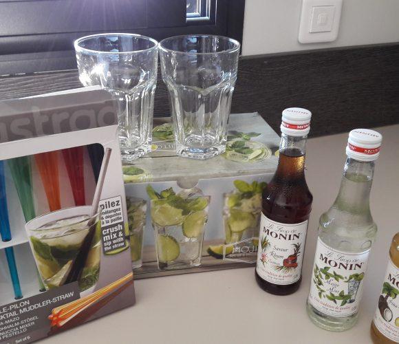 J'ai testé pour vous coffret de sirops cocktail sans alcool MONIN