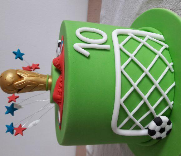 Le gâteau de la victoire. On est les champions 🇫🇷🏆⚽️🇫🇷🏆⚽️