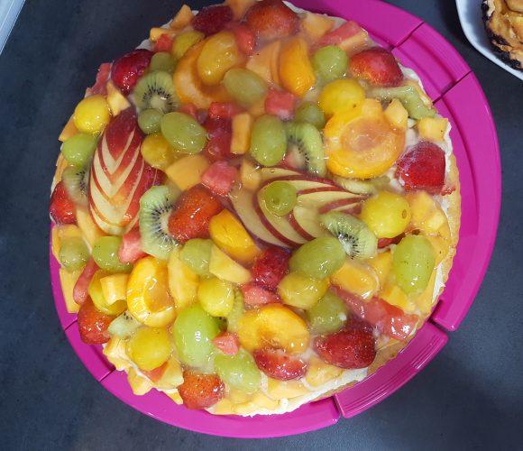 Tarte aux fruits frais d'été