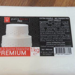 J'ai testé pour vous la pâte à sucre Premium de Patisdécor Pro