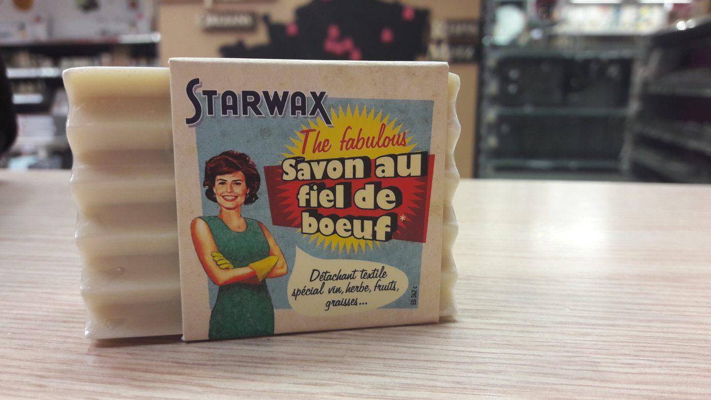 J'ai testé pour vous savon au fiel de boeuf starwax