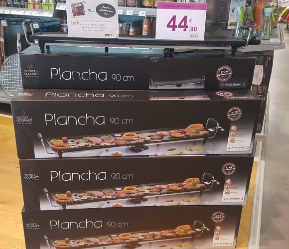 Plancha secret gourmet