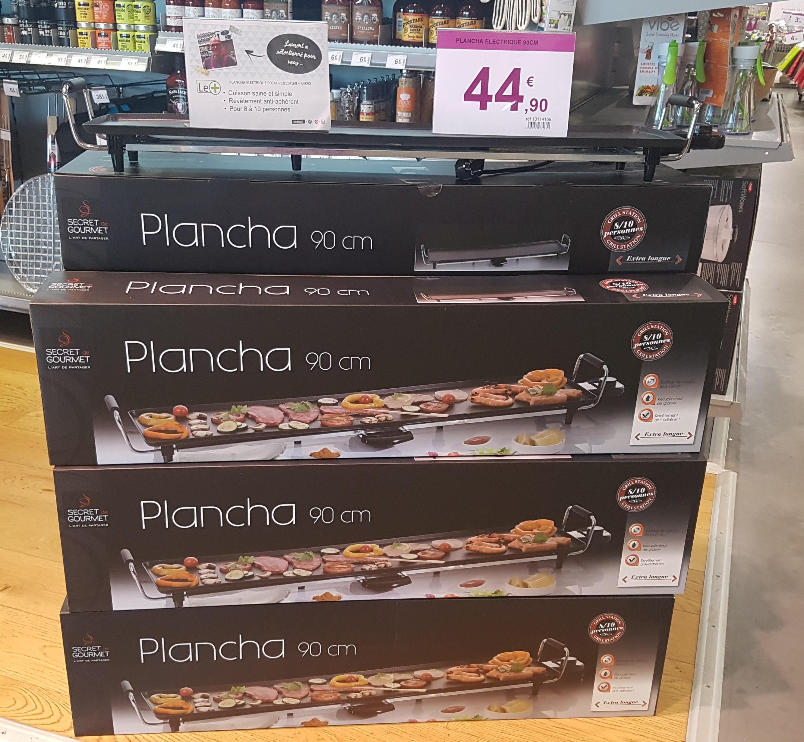 Plancha secret gourmet