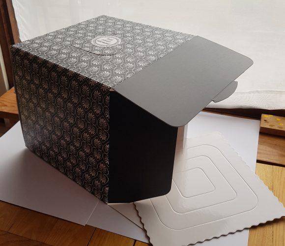 J'ai testé pour vous la boîte à gâteau 26x26x24