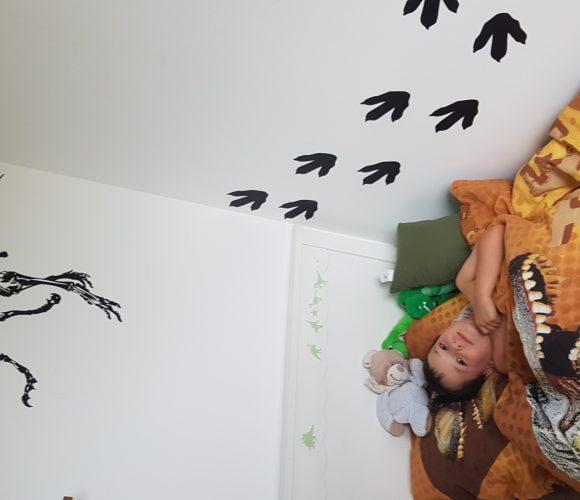 Des empreintes de T-rex