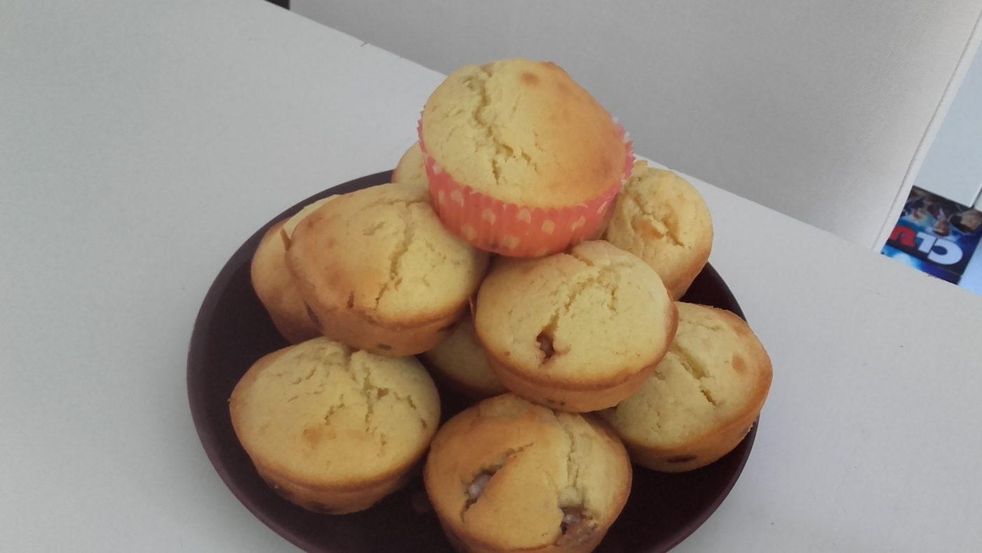 Muffins a l'orange et  aux smarties 😆
